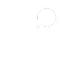 White graphic of a chip